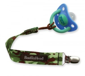 Booginhead Pacifier Holder, Boy Camo