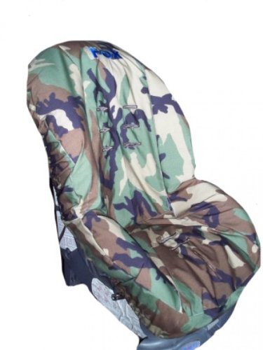 Toddler Car Seat Cover, Slip Cover- Military Camo!