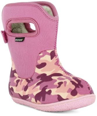 Bogs Infant/Toddler Baby Camo Boot, Pink Camo-4 Infant