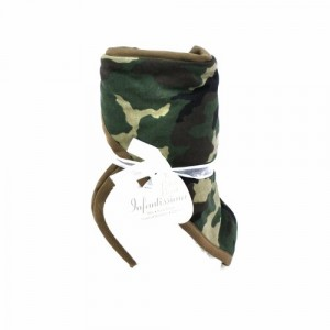 Infantissima Toddler Hooded Towel, Camo/Hunter