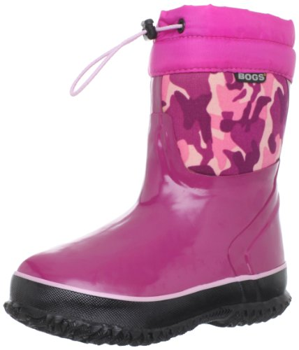 Bogs McKinley Snow Boot (Toddler/Little Kid/Big Kid),Pink Camo,10 M US Toddler