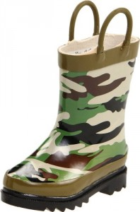 Western Chief Camoflage Rain Boot (Toddler/Little Kid/Big Kid),Camoflage,8 M US Toddler