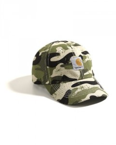 Carhartt Kid's Signature Camo Canvas Cap