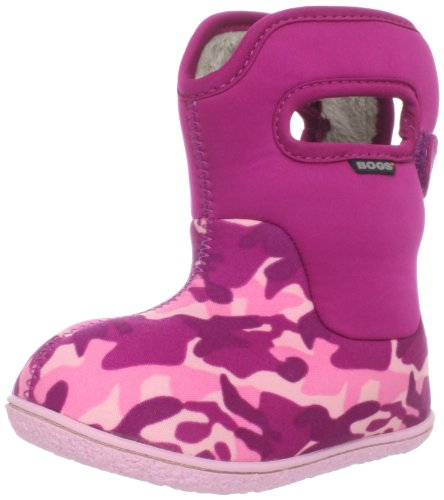 Bogs Baby Boot Waterproof Boot (Toddler),Pink Camo,5 M US Toddler