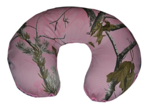 Nursing Pillow Cover, Replacement Cover, Slip Cover- Pink Camo with Pink Minky!