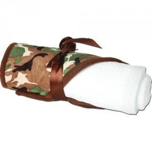 Hooded Towel - Camo - By Threadart