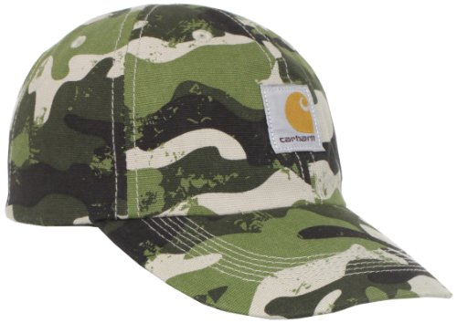 Carhartt  Signature Camo Canvas Cap, Ivy Green, Child