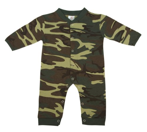 67057 LONG SLEEVE / LEG WOODLAND INFANT ONE-PIECE (3-6 months)