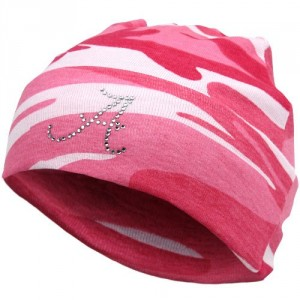 NCAA Alabama Crimson Tide Newborn Camo Knit Beanie - Pink
