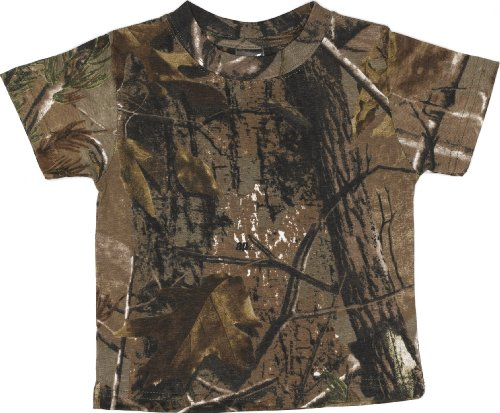Code V - Toddler RealTree Camo Short-Sleeve T-Shirt - 3385 - RealTree AP HD - 2T