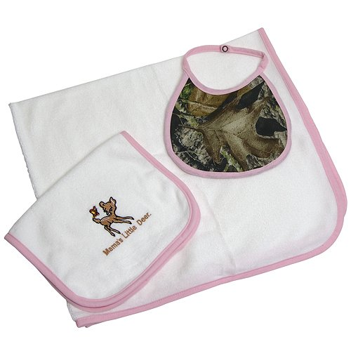Big Sky Carvers Baby Gift Set Pink/Mossy Oak