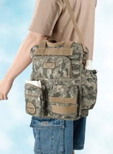 Lillian Rose 24DB420 Daddy Military Diaper Bag