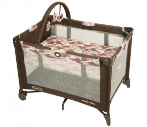 Graco Pack N Play Playard, Camo Jane